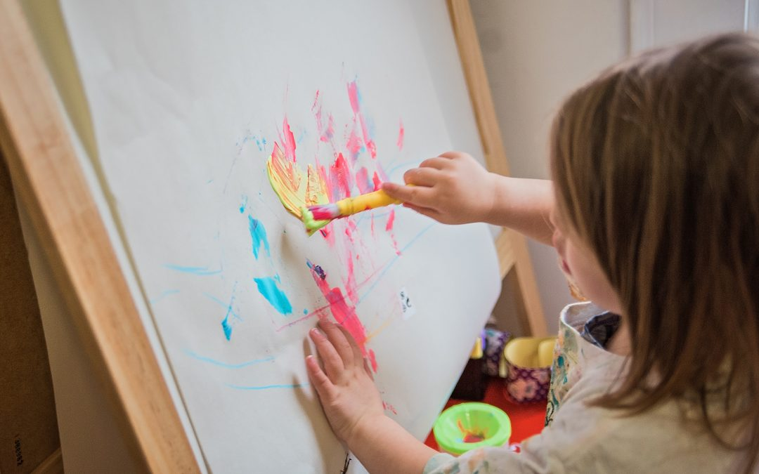 4 Easy Ways to Incorporate Messy Play